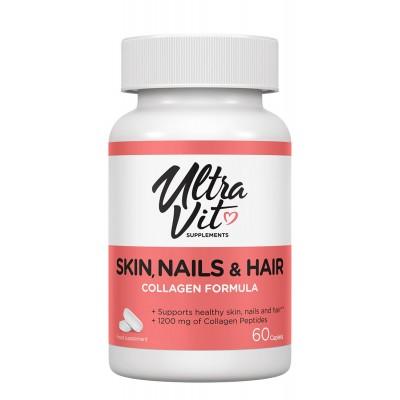 Комплекс для кожи, волос и ногтей UltraVit Skin, Nails & Hair (60 таб)