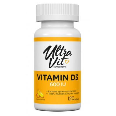 Витамин Д3 UltraVit Vitamin D3 (120 капс)