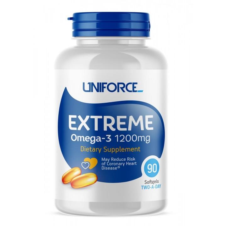 Uniforce Extreme Omega 3 (90 капс)