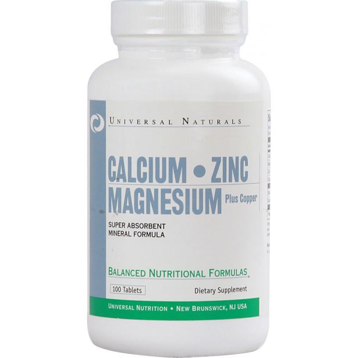 Кальций цин магний Universal Calcium Zinc Magnesium