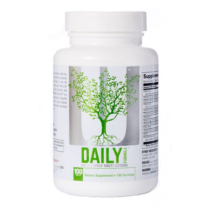 Витамины Universal Nutrition Daily Formula (100 таб)