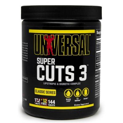 Жиросжигатель Universal Super Cuts 3 (144 таб)