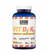 Витамин Д3 и К2 UNS Vit D3 + K2