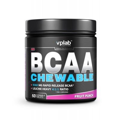 Аминокислоты VPlab BCAA chewable (60 таб)