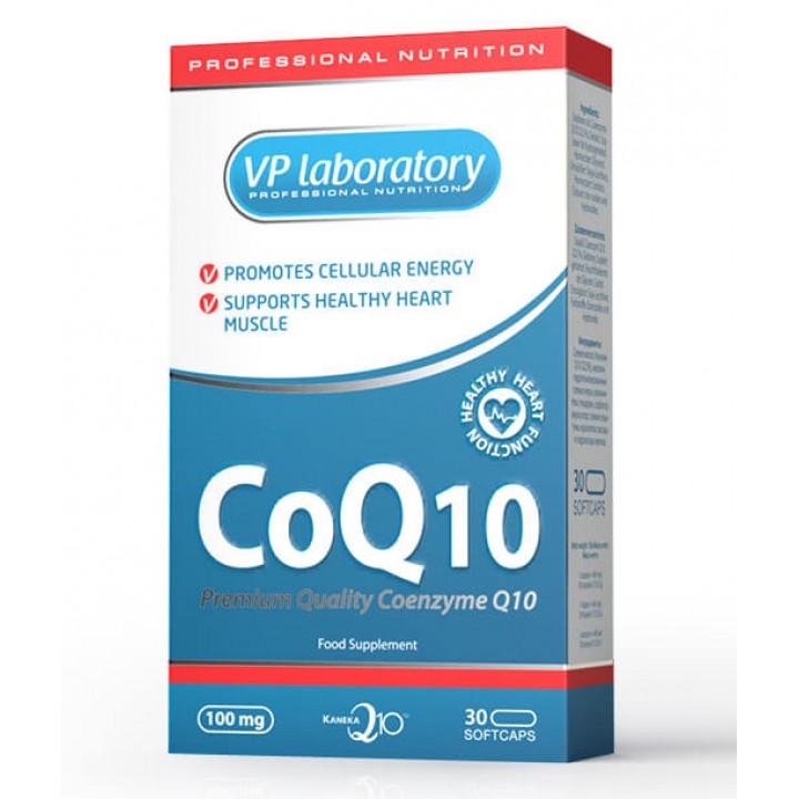 Коэнзим Q10 VPlab CoQ 10 (30 капс)