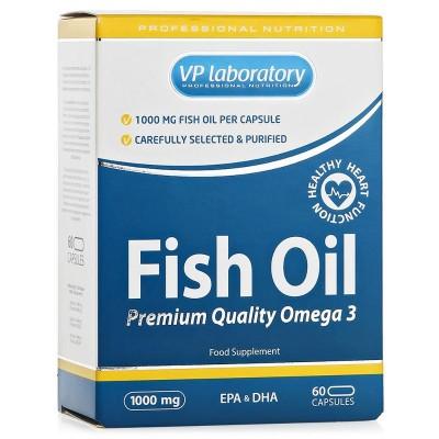 Рыбий жир VPLab Fish Oil (60 капс)