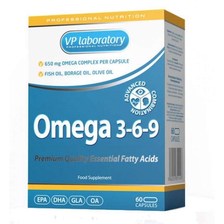 Жирные кислоты VPLab Omega 3-6-9
