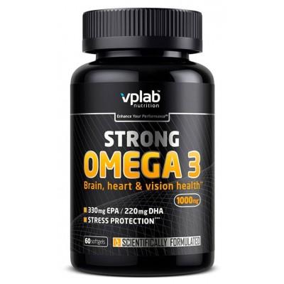Рыбий жир VPlab Strong Omega 3 (60 капс)