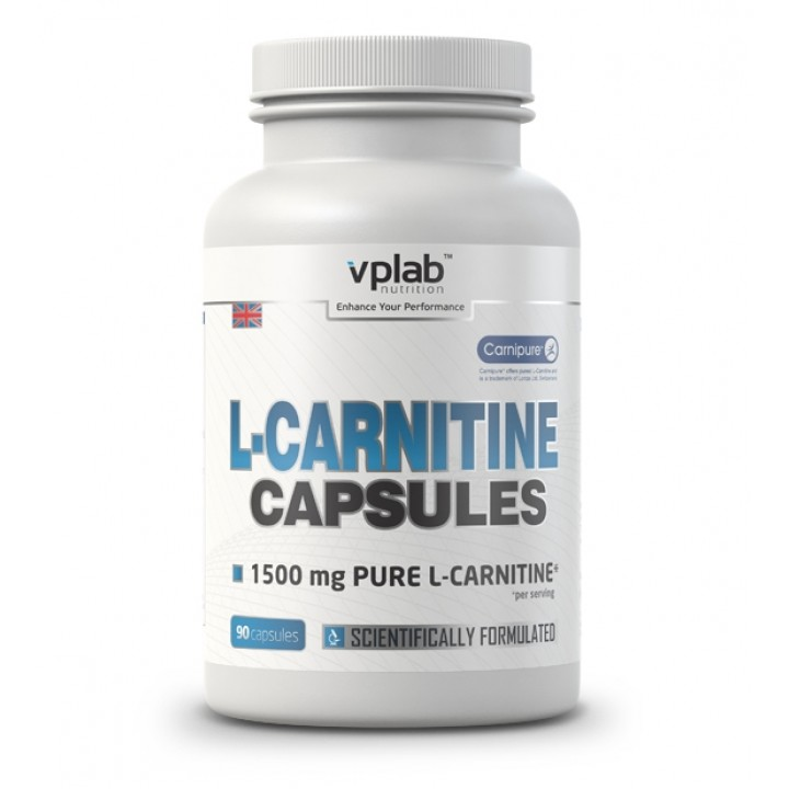 Карнитин VPlab L-Carnitine Caps