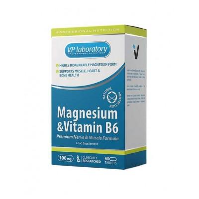 Магний VPLab Magnesium & Vitamin B6