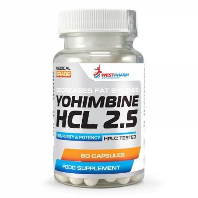 Йохимбин WestPharm Yohimbine HCL (60 капс)