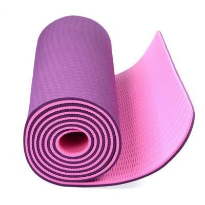 Коврик для йоги TPE (180х61х0,8 см)