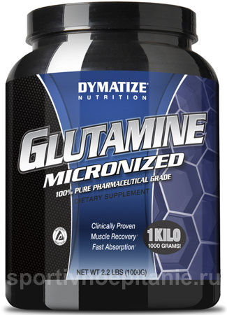 Dymatize Glutamine Micronized 1 кг