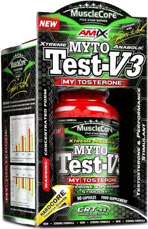 Тестостероновый бустер MuscleCore Myto Test-V3 от Amix
