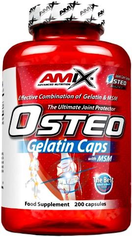 Препарат для связок и суставов OsteoGelatine + MSM от AMIX