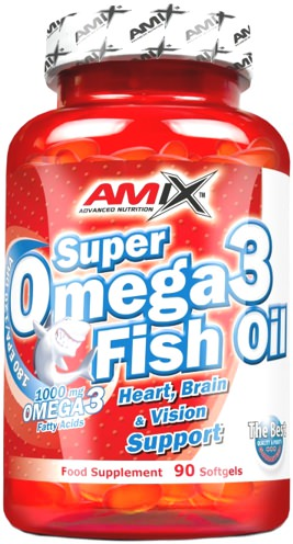 Жирные кислоты Super Omega-3 Fish Oil 1000mg от AMIX
