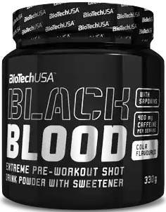 Предтренировочный комплекс Black Blood от BioTech USA