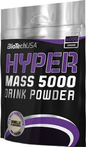 Высококалорийный гейнер Hyper Mass 5000 от BioTech USA