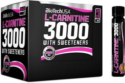 Карнитин L-Carnitine 3000 от BioTech USA