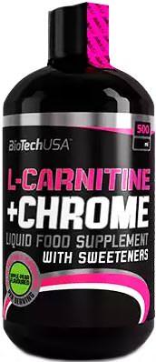Концентрат карнитина L-Carnitine + Chrome от BioTech USA