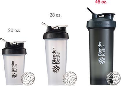 Шейкер Pro45 от Blender Bottle объемом в 1330 мл