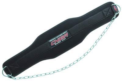Атлетический пояс с цепью Belts Dipping Belt от Chiba