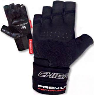 Cпортивные перчатки Premium Wristguard от Chiba