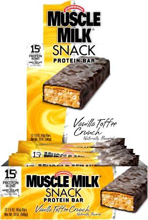 Протеиновый батончик Muscle Milk Snack Bar от CytoSport