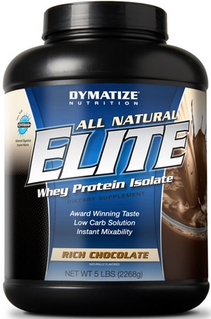 All Natural Elite Whey Protein от Dymatize