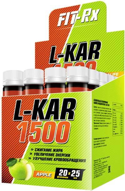 Карнитин L-KAR 1500 от FIT-Rx