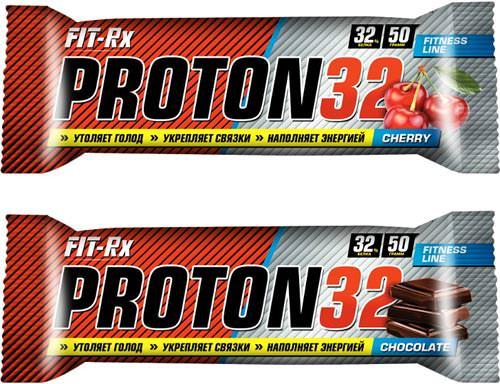 Протеиновый батончик Proton 32 Bar от FIT-Rx