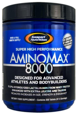 Аминокислоты AminoMax 8000 от Gaspari