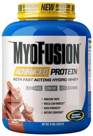 Комплексный протеин MyoFusion Advanced Protein от Gaspari