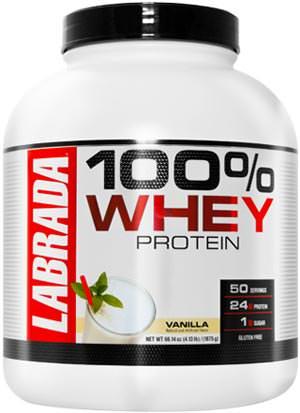 Сывороточный протеин 100% Whey Protein от Labrada