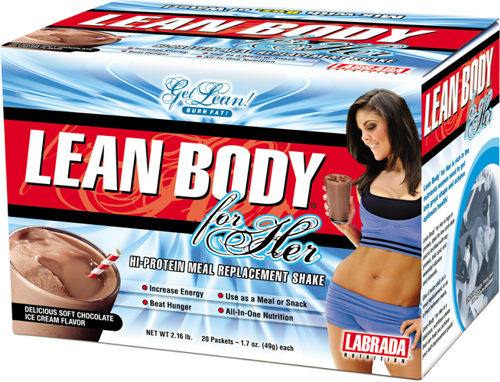 Заменитель питания для девушек Labrada Lean Body For Her