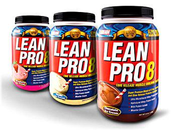 Линейка протеинов Lean Pro8