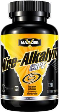Буферизированный креатин Kre-Alkalyn Caps от Maxler