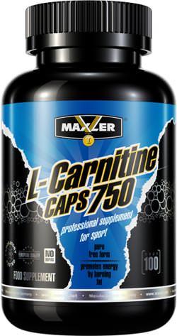 Карнитин L-Carnitine Caps 750 от Maxler