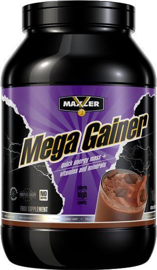 Высококалорийный гейнер Mega Gainer от Maxler