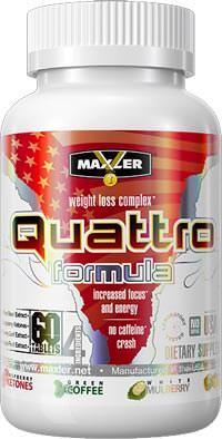 Жиросжигатель Quattro Formula от Maxler