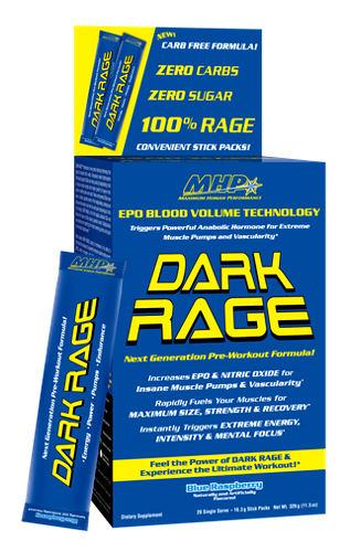 Dark Rage Zero Carb - 20 пакетиков