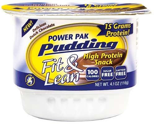 Протеиновый пудинг Fit & Lean Power Pak Pudding от MHP