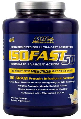 ISOFAST 50 - сывороточный изолят от MHP