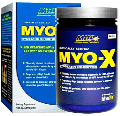 Ингибитор миостатина Myo-X 300g от MHP