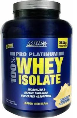 Сывороточный изолят Pro Platinum 100% Whey Isolate от MHP
