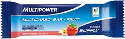 Углеводный батончик Multicarbo Bar + Fruit от Multipower