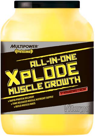 Комплексный протеин Professional Xplode Muscle Growth от Multipower