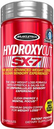Жиросжигатель Hydroxycut SX-7 от MuscleTech