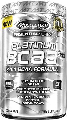 BCAA Platium BCAA 8:1:1 Essential Series от MuscleTech