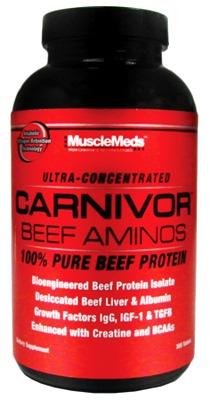 CARNIVOR BEEF AMINOS от MuscleMeds